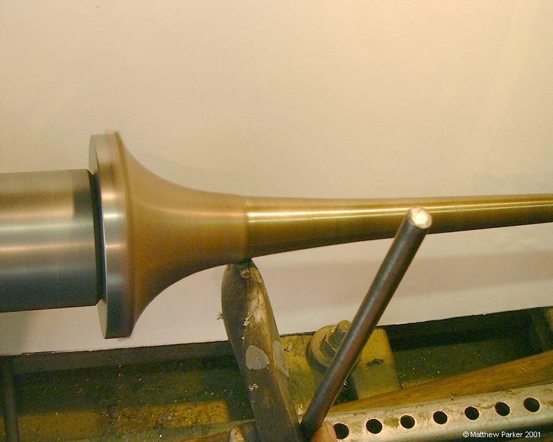 trumpet making. Black Bedroom Furniture Sets. Home Design Ideas